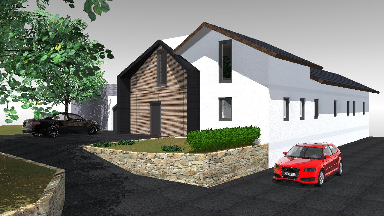 Zubau Wohnhaus M3