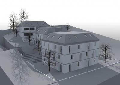 Projektstudie Wohnbau