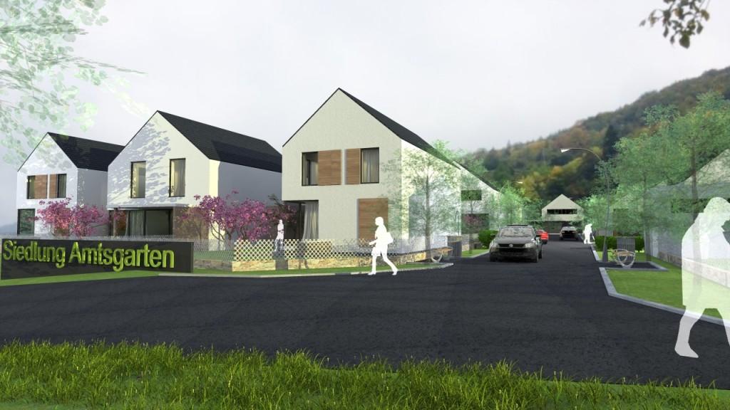 Siedlung Amtsgarten-Projektstudie